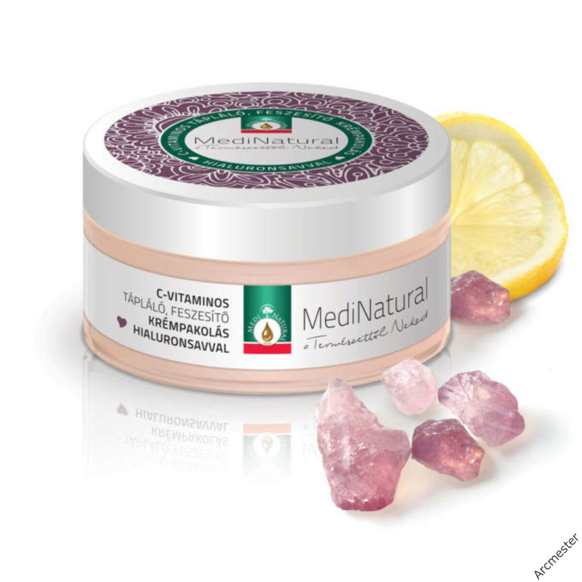 Anti-aging arcpakolás   C vitaminos feszesítő krémpakolás Hialuronsavval
