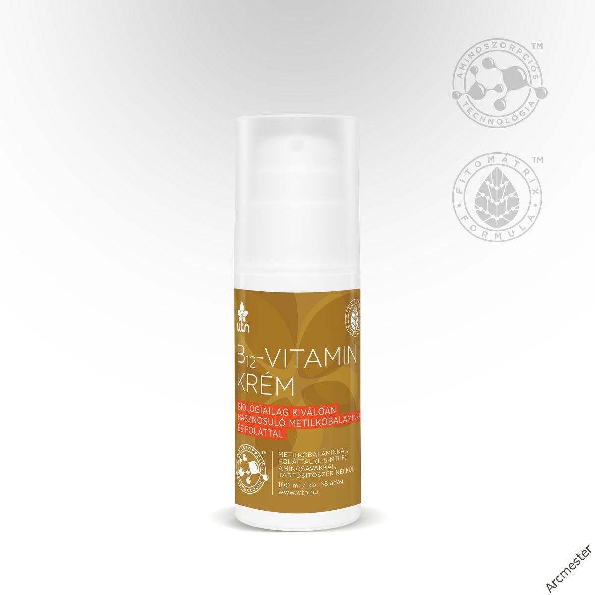 WTN B12-vitamin krém 100ml