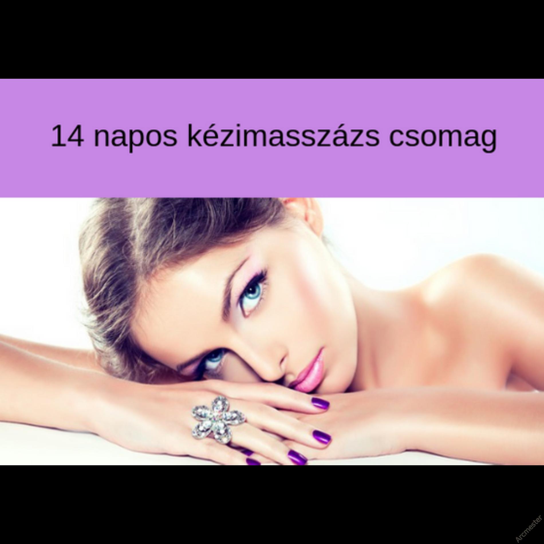 14 napos Kézi arcmasszázs  - online