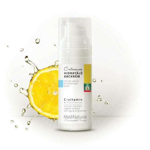 C vitaminos hidratáló arckrém 50 ml
