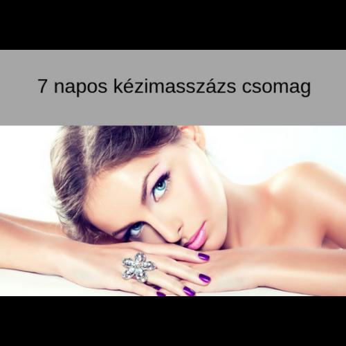 7 napos Kézi arcmasszázs videotanfolyam - online