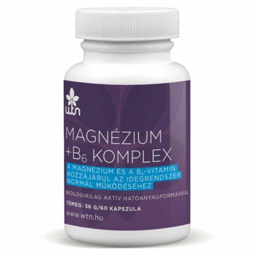 MAGNÉZIUM + B6 KOMPLEX 60 db kapszula
